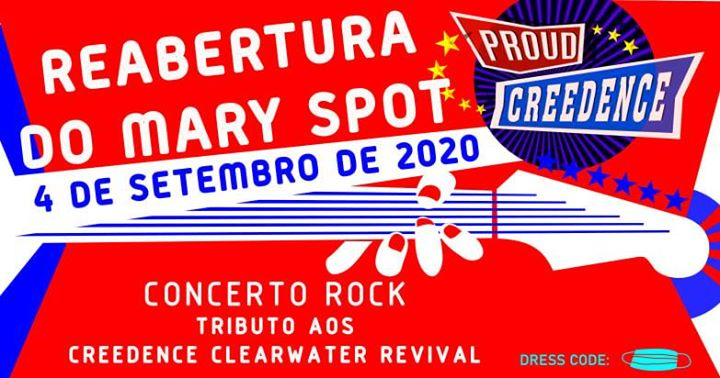 Reabertura Mary Spot @ Proud Creedence Tributo CCR