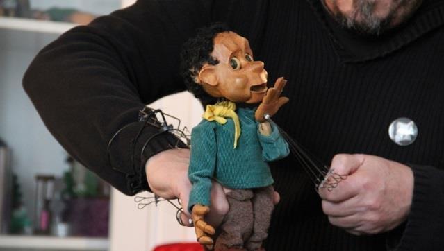 Marionetas com Trulé