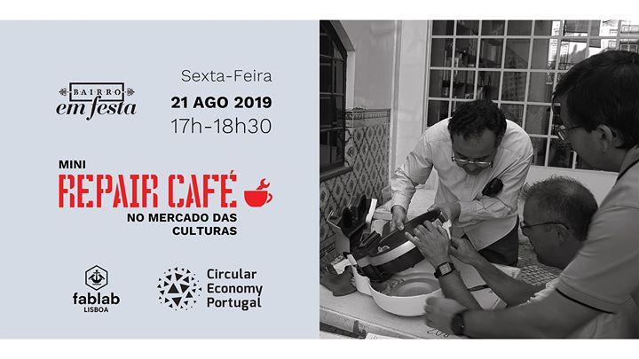 Repair Café - FabLab Lisboa (ESGOTADO) ✿ Bairro em Festa 2020