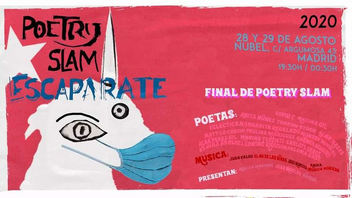 Poetry Slam Escaparate 2020