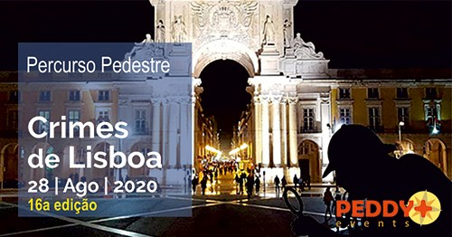 Percurso Pedestre 'Crimes de Lisboa' (16ª Edição)