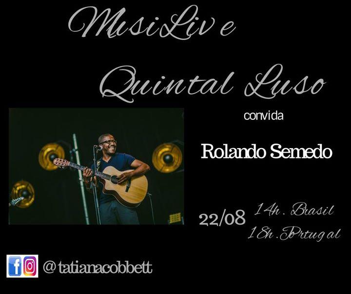 MusiLive Quintal Luso convida Rolando Semedo