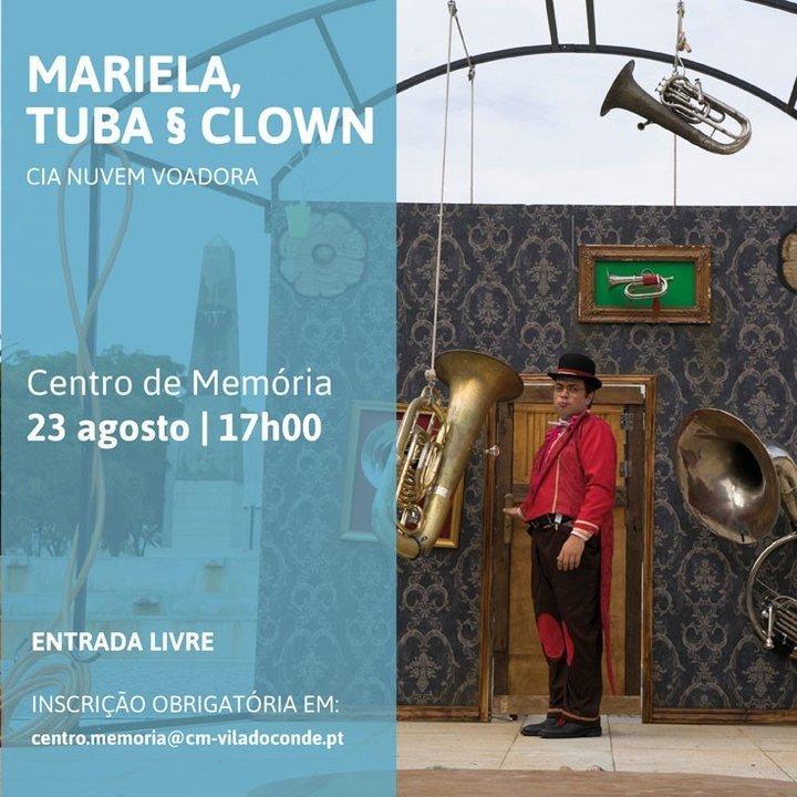"""Mariela tuba & clown"": Nuvem ..."