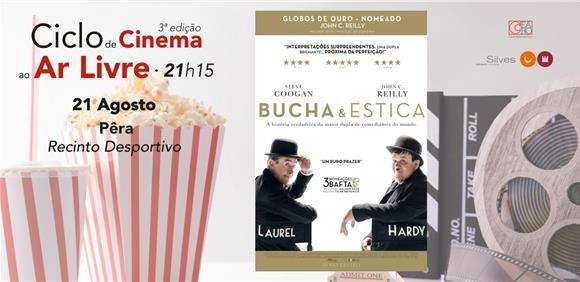 Sessão de cinema ao ar livre: filme 'Bucha e Estica'