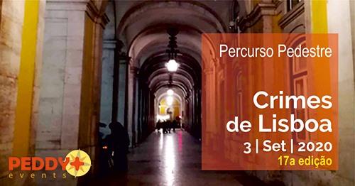 Percurso Pedestre 'Crimes de Lisboa' (17ª Edição)