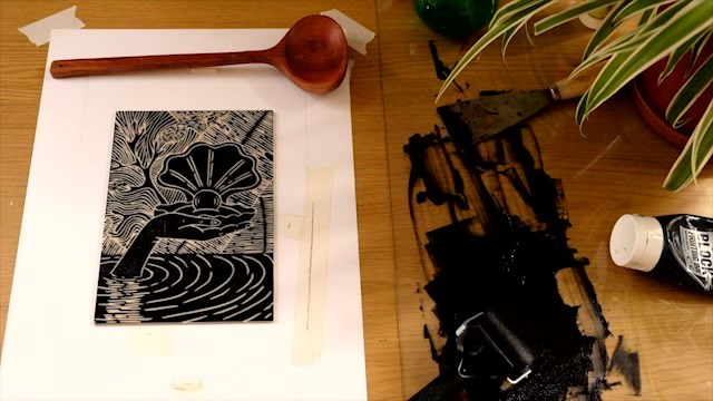 Linocut Workshop by Marija Reikalas