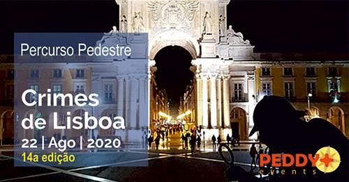 Percurso Pedestre 'Crimes de Lisboa' (14ª Edição)
