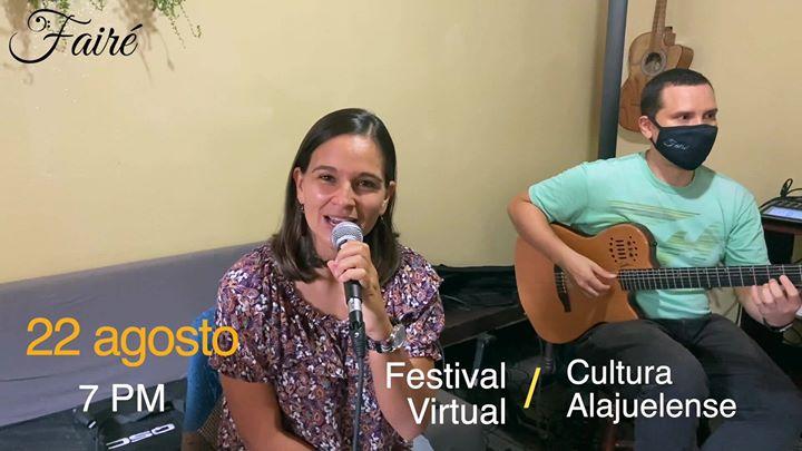 Fairé en Festival Virtual de la Cultura Alajuelense