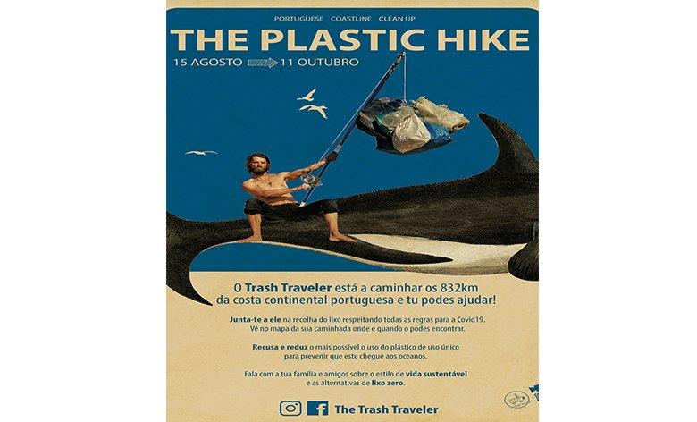 The Plastic Hike  - Trash Traveller