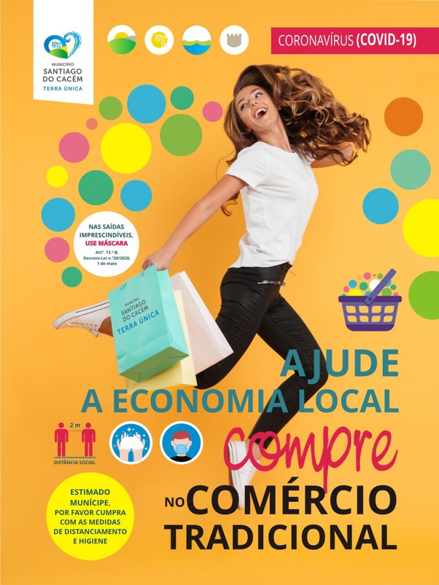 """Passatempo """"Ajude a economia local compre no comércio tradicional"""""""
