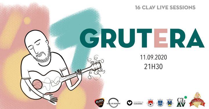 16ª CLAV Live Session // Grutera // Apresentação do Álbum 'Aconteceu'