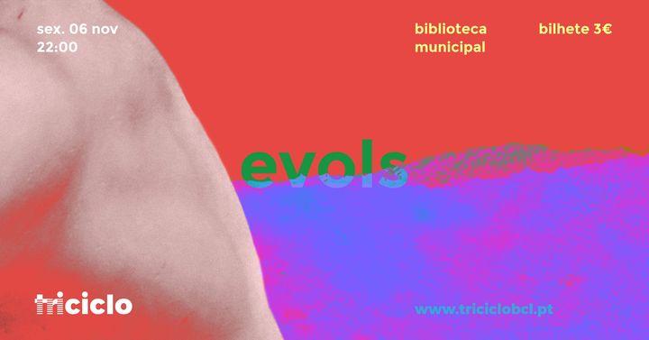 triciclo / evols na biblioteca municipal