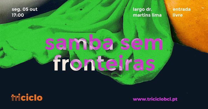 triciclo / samba sem fronteiras em barcelos