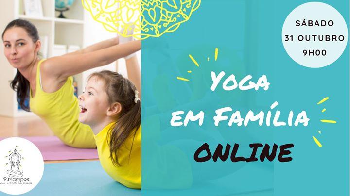 Yoga em Família - AULA Online e Interativa