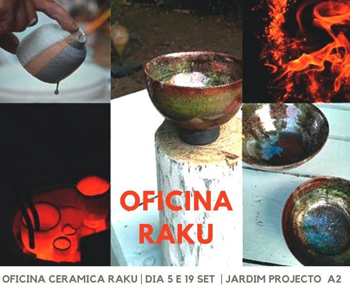 Oficina cerâmica Raku