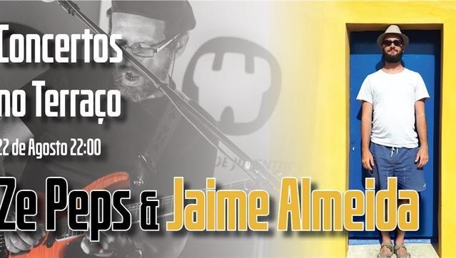 Concertos no Terraço - Ze Peps e Jaime Almeida