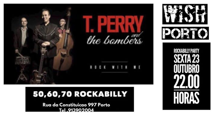 TONY PERRY And THE BOMBERS ROCKABILLY