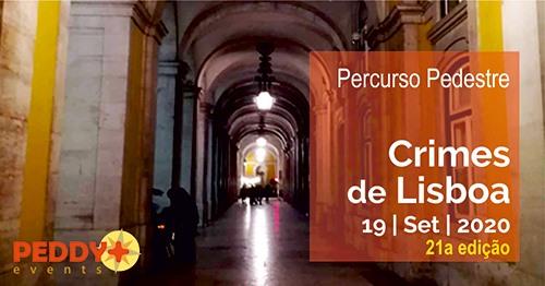 Percurso Pedestre 'Crimes de Lisboa' (21ª Edição)