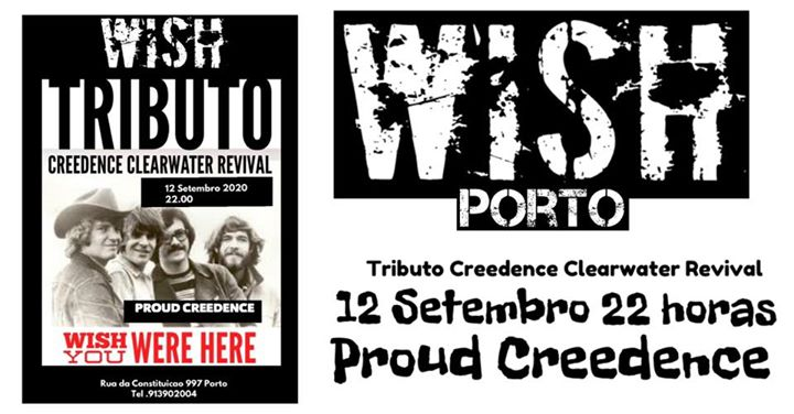 TRIBUTO CREEDENCE CLEARWATER REVIVAL