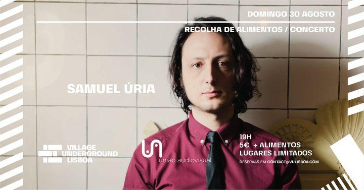 Domingo 30 Agosto - Samuel Úria