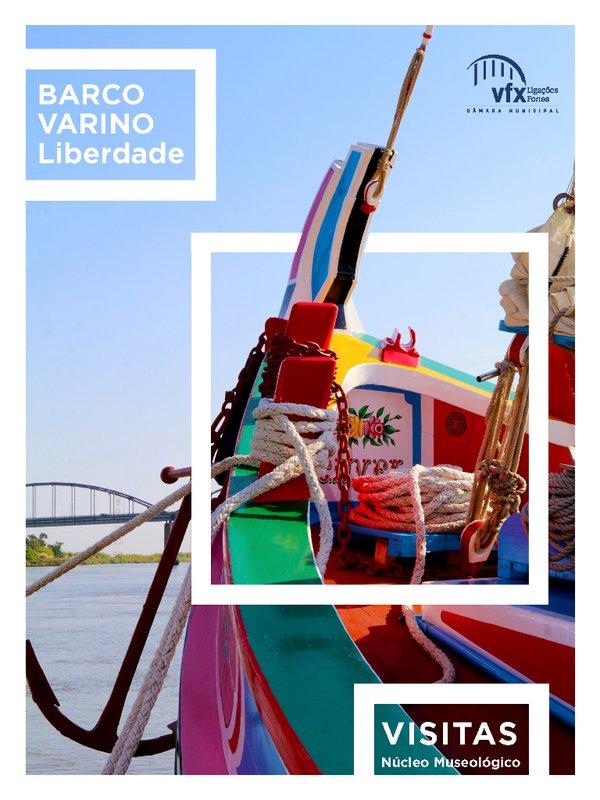 """Barco Varino """"Liberdade"""" - programa de visitas e passeios a bordo"""