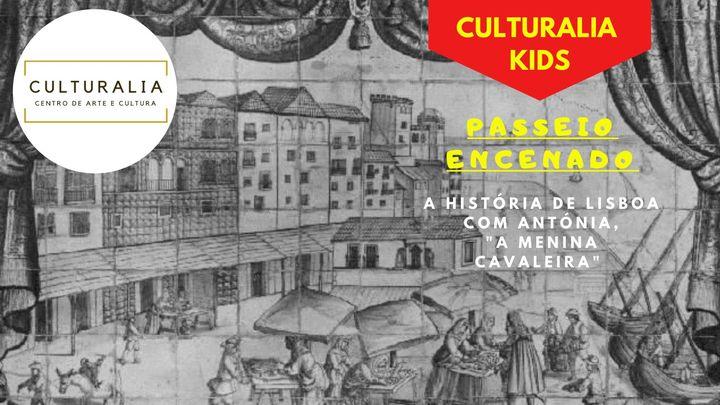 A História de Lisboa com Antónia, 'a Menina Cavaleira'
