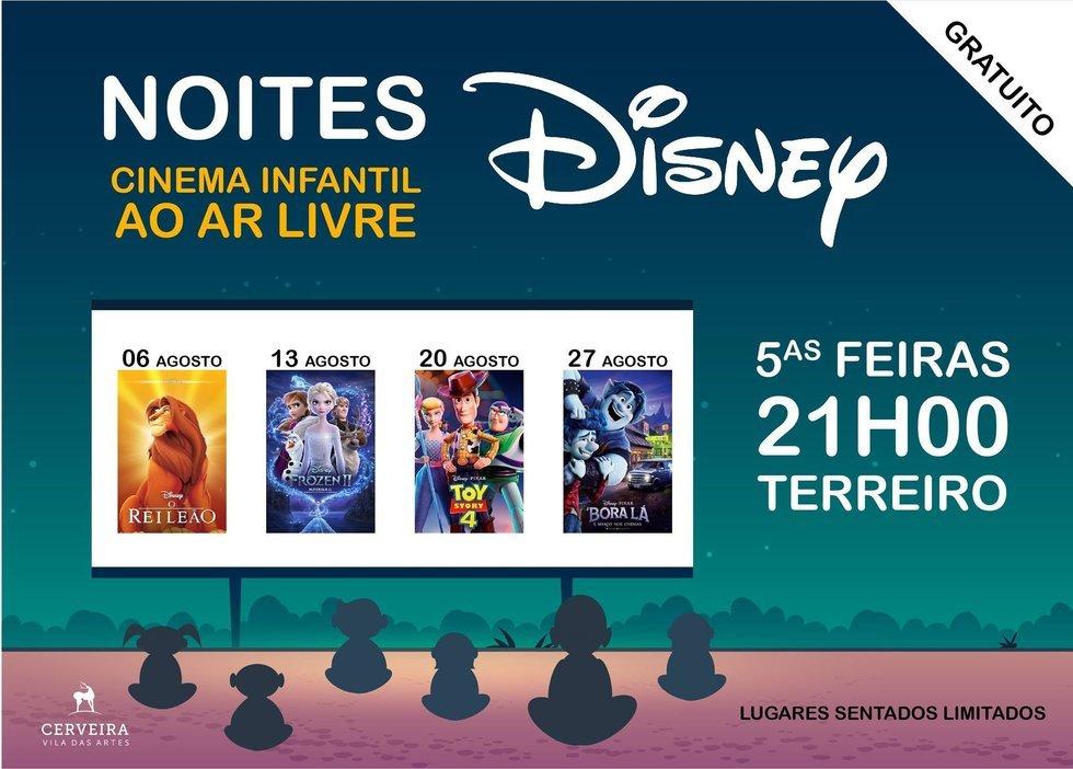 'Noites Disney – Cinema Infantil ao ...