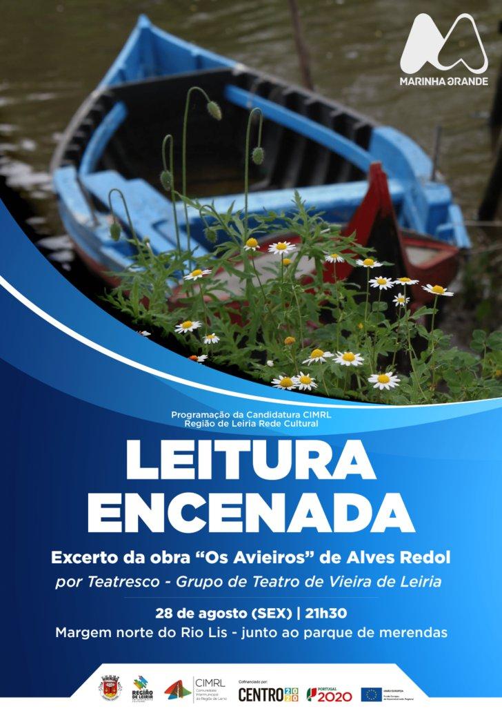 """Leitura encenada """"Os Avieiros"""", de ..."""
