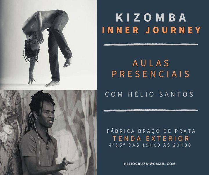 Aula de Kizomba com Hélio Santos
