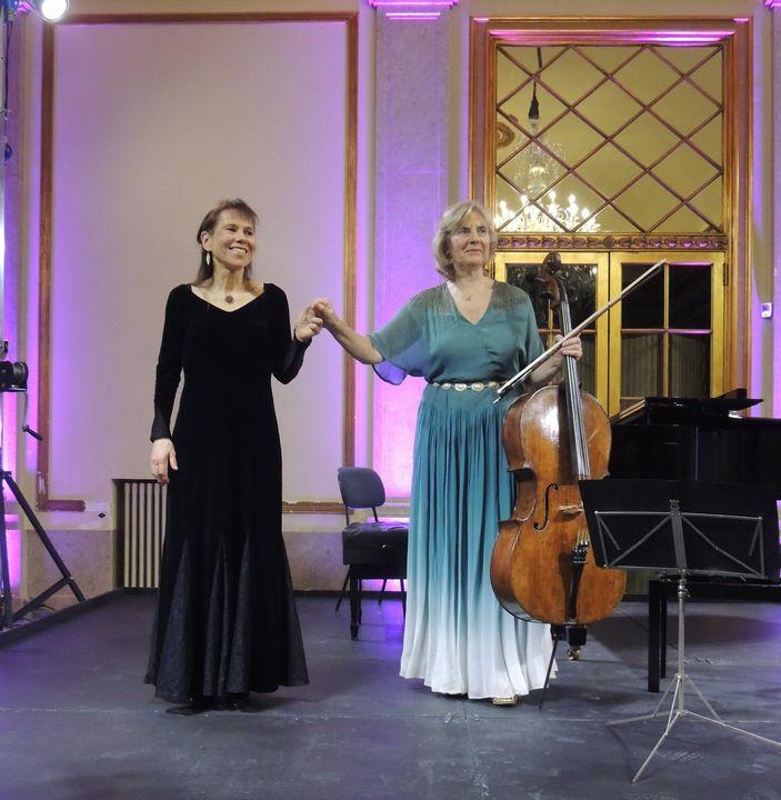 Recital de violoncelo e piano | Maria José Falcão e Anne Kaasa