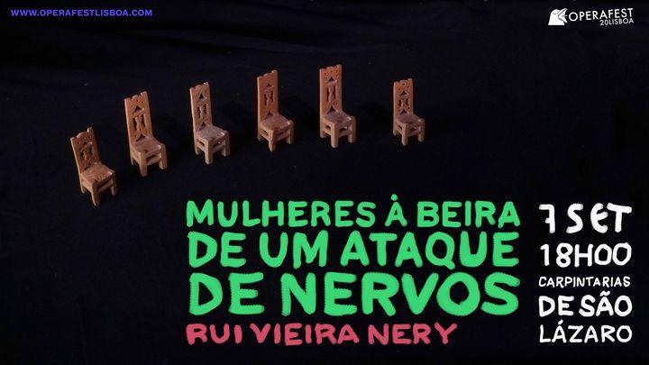 Mulheres à Beira de Um Ataque de Nervos - Óperafest Lisboa 2020