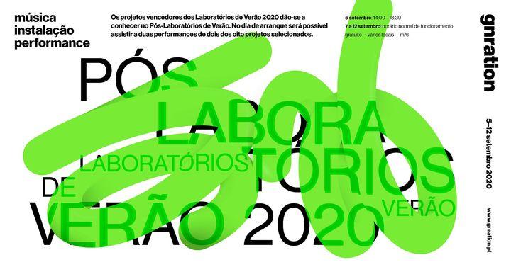 Pós-Laboratórios de Verão 2020 | gnration