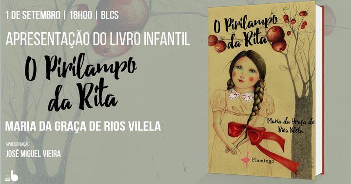 Apresentação do livro infantil 'O Pirilampo da Rita'