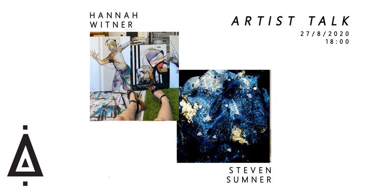 ARTIST TALK | Hannah Witner & Steven Sumner
