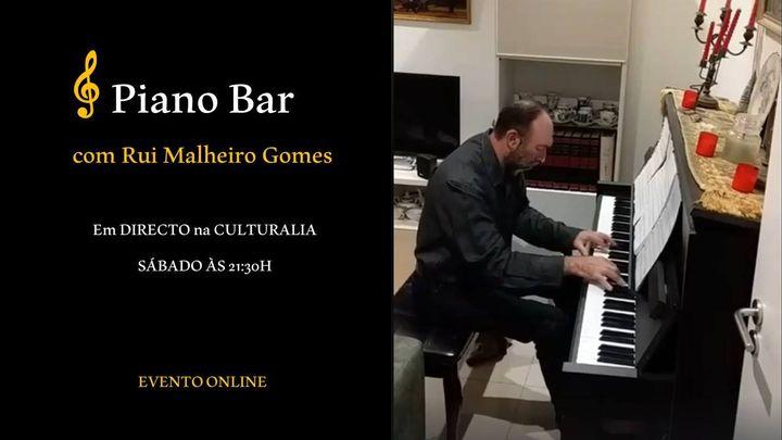 Piano Bar com Rui Malheiro Gomes