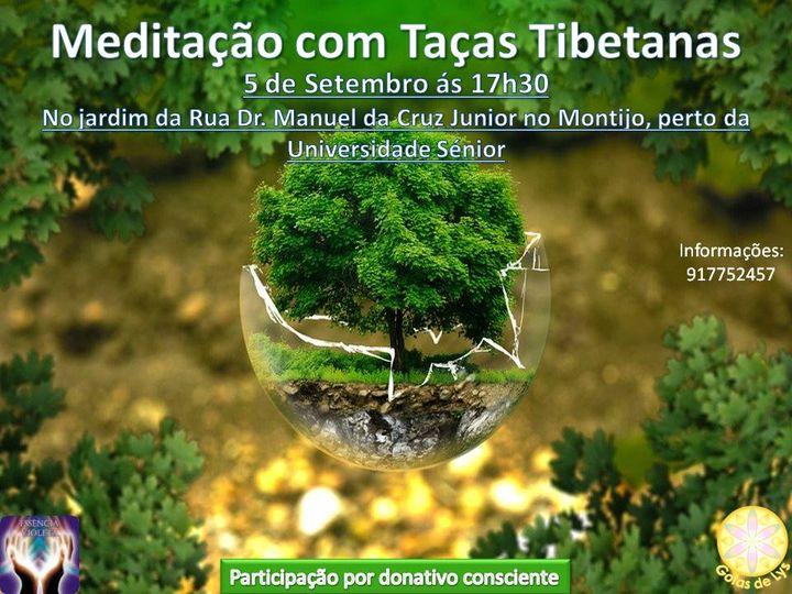 Meditação com Taças Tibetanas