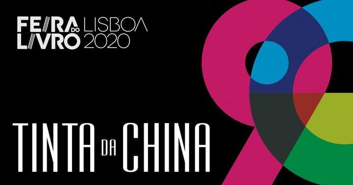 Tinta-da-china na Feira do Livro de Lisboa 2020