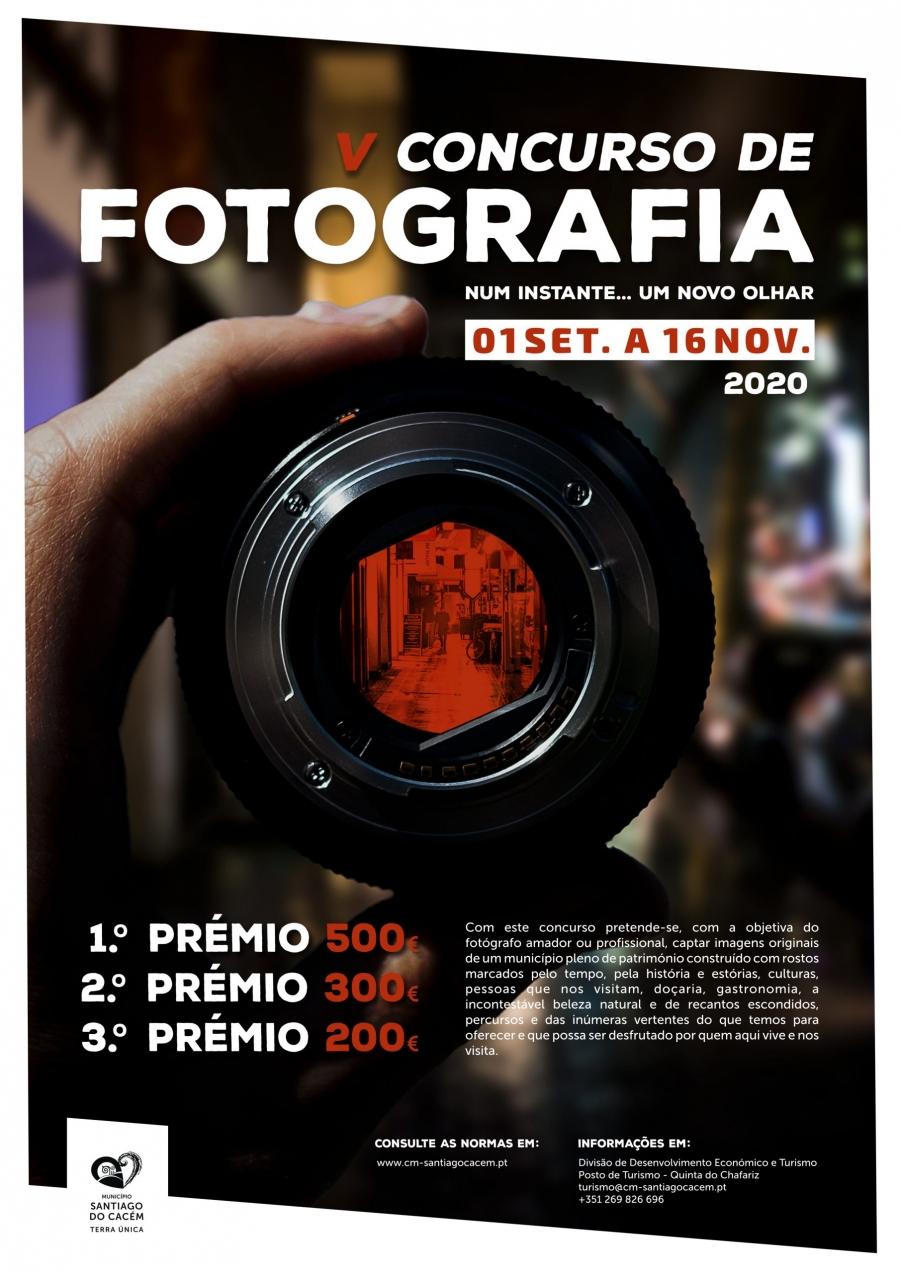 V Concurso de Fotografia – Num instante…Um novo olhar