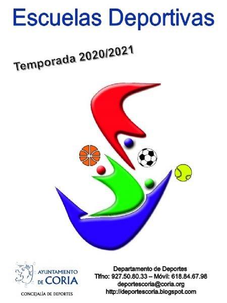 Inscripción de las Escuelas Deportivas 2020/21