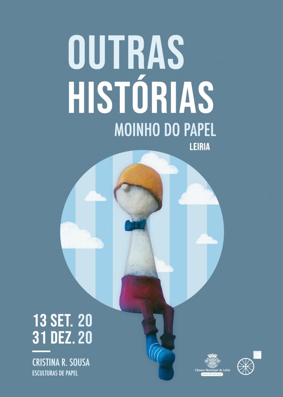 Outras histórias: Exposição de esculturas de papel