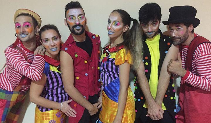 Los payasos bailarines