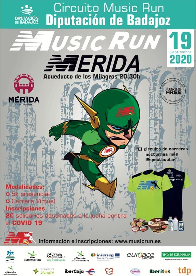 Music Run Mérida 2020