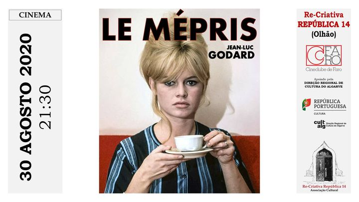 Le Mépris (O Desprezo) - Cinema ao Ar Livre