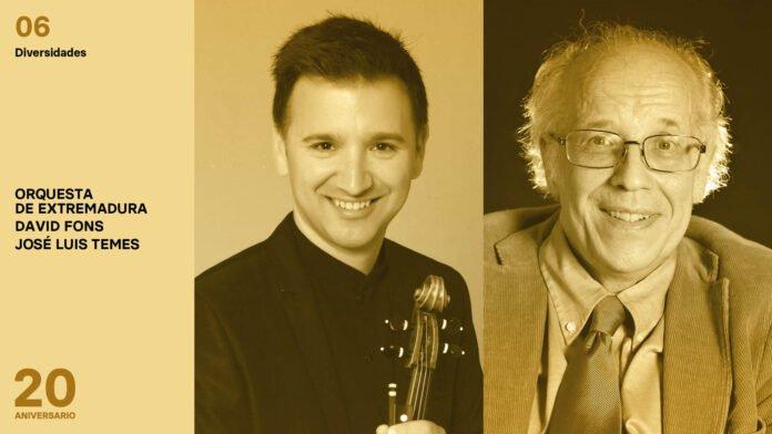NUEVA FECHA – Orquesta de Extremadura – Diversidades
