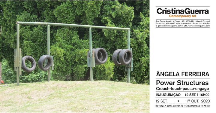 ÂNGELA FERREIRA, 'Power Structures (Crouch-touch-pause-engage)'