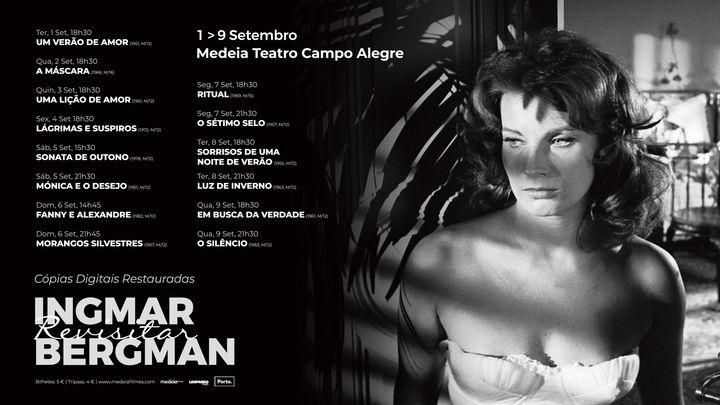 Revisitar Ingmar Bergman - Cópias Restauradas | Campo Alegre