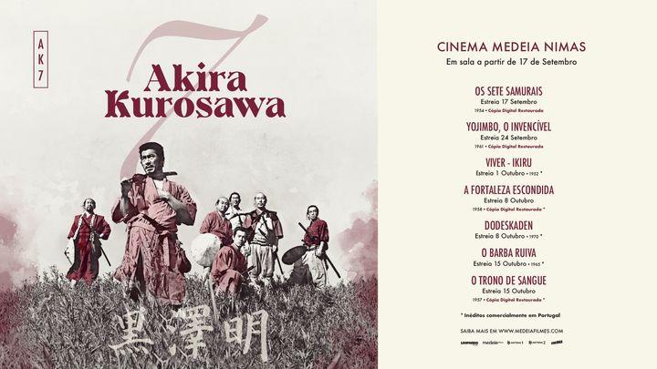7 Akira Kurosawa - Cópias Restauradas | Cinema Nimas