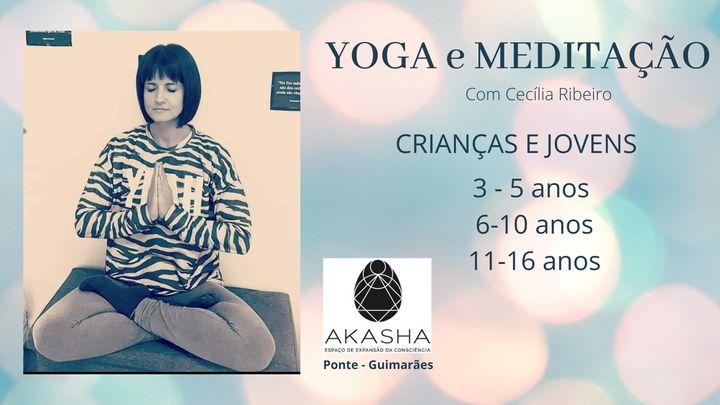 Yoga e Meditação Crianças e Jovens