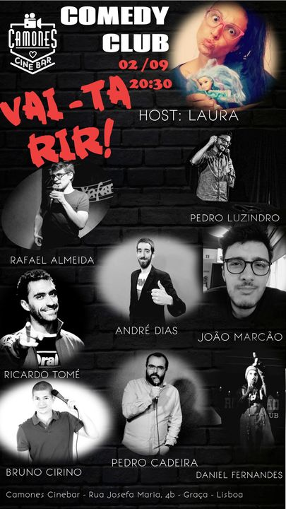 Vai-ta Rir! - Comedy Club