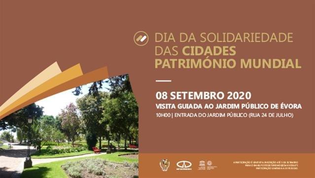 Visita guiada ao Jardim Público de Évora | Dia da Solidariedade das Cidades Património Mundial